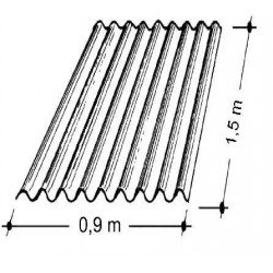 Doska L 76/18   1,5x0,9 m bezfar. Typ100, hrúbka 0,75 mm