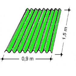 Doska L 76/18   1,5x0,9 m zelená Typ100, hrúbka 0,75 mm