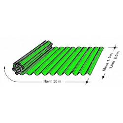 Rola L 76/18   1,5 x 20 m zelená Typ130, hrúbka 0,9 mm
