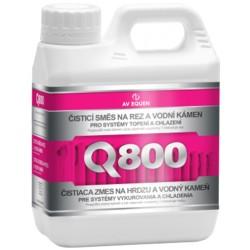 Q800 - Čistiaca zmes na hrdzu a vodný kameň na neutrálnej báze